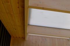 Pulpettak invändigt mot takfot