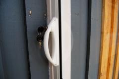Nyckellås för enbart utvändig låsning